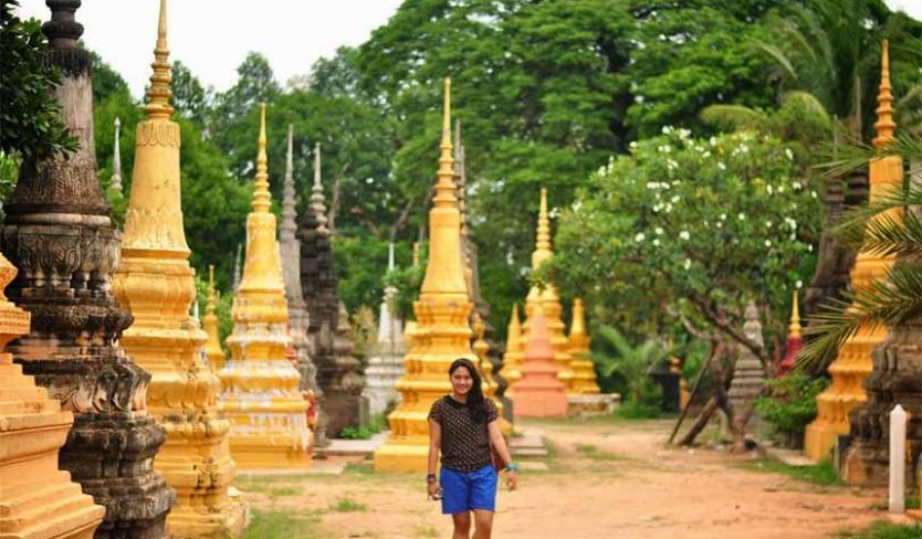 Wat Bo Pagoda, Siem Reap