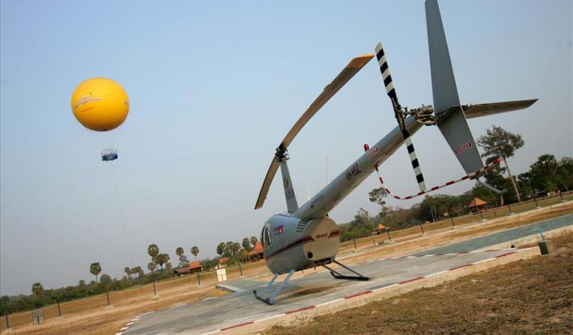 Balloon Ride over Angkor Wat