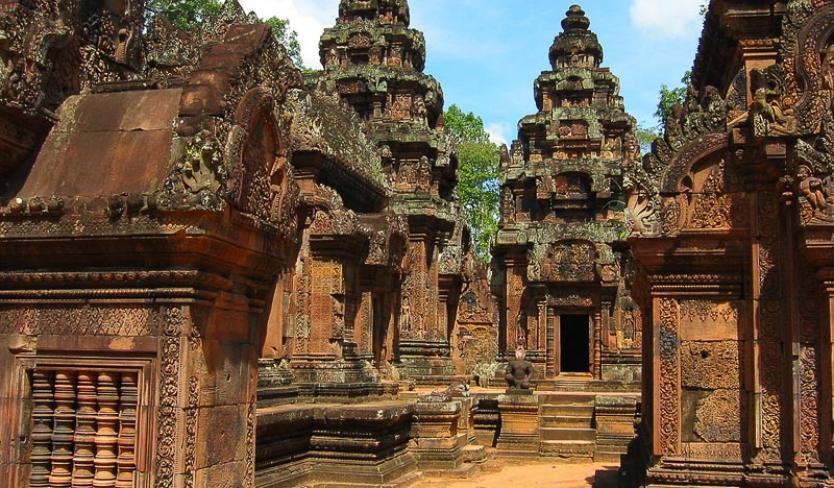 Banteay Srey in Cambodia